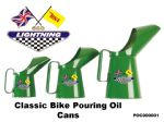 BSA A65 Lightning Classic Bike Oil Cans Set PC00001